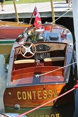 "1997 Hacker Gentleman's Racer ""Contessa"" (Bill Jacomet) Tags: 1997 97 hacker gentlemans racer contessa keels and wheels concours delegance lakewood yacht club seabrook tx texas 2018"