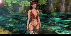 LODT 775 (mygothicmirror.blogspot.cl) Tags: laperla gosee doux catwa flesh hawaii bikini summer honolulu pool nature natual