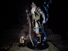 The True Size of a Storm Giant (ridureyu1) Tags: stormgiant giant ordning dungeonsdragons dd dungeonsanddragons tsr wizardsofthecoast wotc rpg roleplayinggame gygax arneson toy toys actionfigure toyphotography sonycybershotsonycybershotdscw690