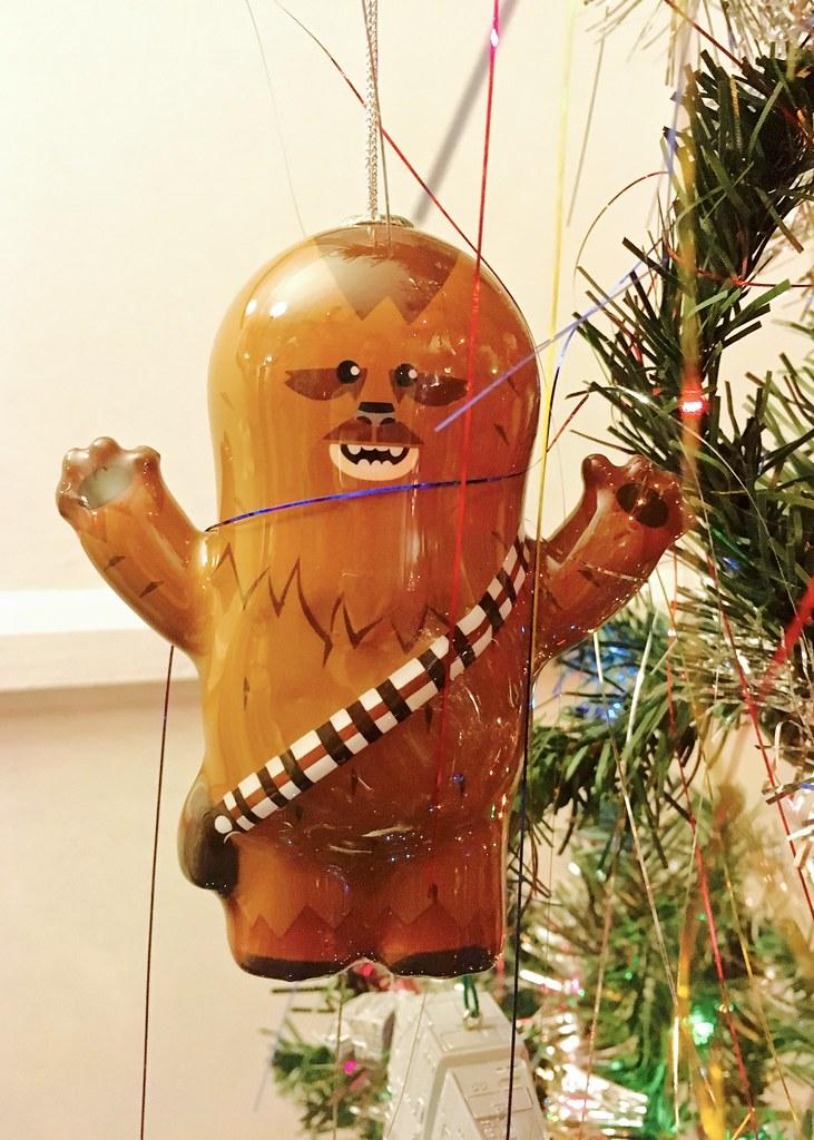 img_1983 danimaniacs tags christmas ornament decoration starwars chewbacca colorful - Chewbacca Christmas Ornament