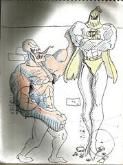 Pseudovenom (Cesar Crash) Tags: antigo old drawings desenho esboço sketch caderno