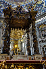 Petersdom (Travelpics...) Tags: cittadelvaticano geo:lat=4190220917 geo:lon=1245357692 geotagged vat vatican vatikanstadt petersdom citta del vaticano basilika sankt peter vatikan rom italy italien roma