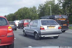 1987 Volkswagen Golf CL (NielsdeWit) Tags: nielsdewit driving rt80pk a12 highway vw volkswagen golf 2 ii mkii mk2 cl