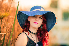 summertime mode photos (Erik Preis photo portfolio) Tags: sunset sun summer red hair redhair girl canon canonlens canon135mm canonef canon5d
