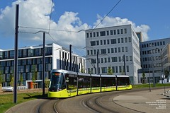 CAF Urbos 3 (Nico54300) Tags: caf urbos tramway transport stas saintetienne chateaucreux gare