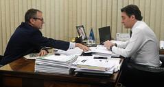 Audiência com o Diretor-Geral da Universidade Tecnológica Federal do Paraná (UTFPR) - Câmpus Medianeira, professor Flávio Feix Pauli.