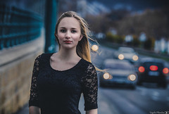 Rebeka (Vagelis Pikoulas) Tags: portrait girl girls woman women cars light lights bokeh budapest pest hungary canon 6d tamron 70200mm vc f28 beautiful beauty europe