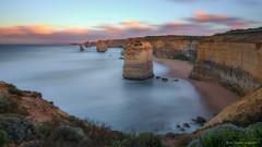 Change is the only constant. (...Kush...) Tags: apostles 12apostles victoria melbourne portcampbell australia longexposure nikon d750 247028 seascape beach limestone cliff erosion landscape