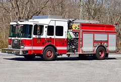 gales ferry engine 21 (Zack Bowden) Tags: fire truck ct gales ferry ledyard hme engine