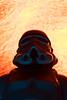 Trooper.  123.365. (FadeToBlackLP) Tags: 365 365project 3652018 stormtrooper starwars orange hot blue cold pov
