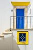 Vicoli di Peschici (emanuelezallocco) Tags: door window yallow blue white peschici gargano puglia italy village town adriatic sea