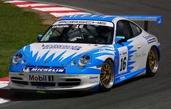 Sam Edwards - Motorbase Performance - Porsche GT3 Cup (Boris1964) Tags: 2005 porschecarreracupgb brandshatch