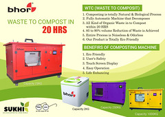Swachh Bharat Abhiyan – Composting Machines by Bhor (sukhiservices) Tags: compostingmachinesindwarka delhi automaticcompostingmachinesindelhi india foodwastecompostingmachines composting compost wastetocompost wastetocompostmachine sorganiccompostingmachines solidwastemanagement foodwasterecycling compostingelements noncompostingelements wastetocompostmachineswtc sukhiservices swachhbharat