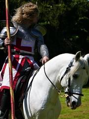 Jousting (jacquemart) Tags: berkleycastle gloucestershire heritage castle medieval joust knight horse ardenne jousting