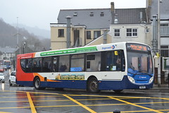 Stagecoach South Wales 28728 YN15KFX (Will Swain) Tags: pontypridd bus station 10th february 2018 cymru south west wales buses transport travel uk britain vehicle vehicles county country england english stagecoach 28728 yn15kfx