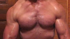 FLEXING STRONG RIPPED MUSCLES (FLEX ROGERS) Tags: bicep bizep bodybuilder bodybuilding biceps abs wellbuilt guns flexing muscle muscular welldeveloped chest pecs flex lats traps delts weights ripped weightlifter huge workout exercise pumped strong massive big