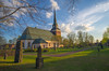 Mora Church (RdeUppsala) Tags: mora kyrka church clouds nubes moln sky cielo himmel city ciudad stad dalarna dalecarlia ricardofeinstein sverige sweden suecia spring vår primavera