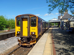 150238 Bere Alston (Marky7890) Tags: gwr 150238 class150 sprinter 2g71 berealston railway devon tamarvalleyline train