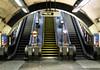 Classic underground (Jay Hunjan) Tags: london tube underground station fuji xe3 travel escalator swisscottage steps