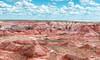 Nature's Canvas - Explore (Ron Drew) Tags: nikon d800 arizona painteddesertnationalpark petrifiedforestnationalpark nationalpark usa landscape outdoors desert hills plains clouds sky vista color southwest vast