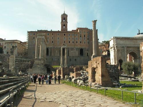Римський форум, Рим, Італія InterNetri Italy 508