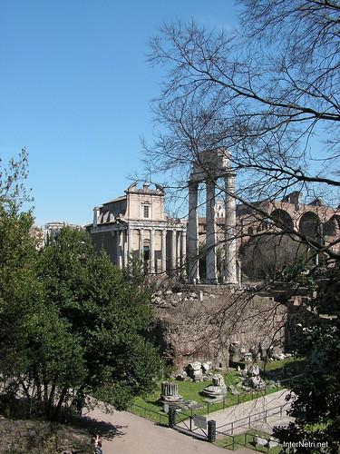 Римський форум, Рим, Італія InterNetri Italy 379