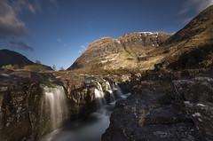 Glencoe-2254 (Neil Hobbs) Tags: glencoe scotland longexposure mountains rapids waterfall