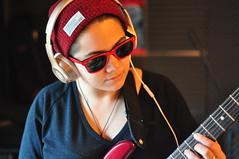 DSC_0688 (elinafilice) Tags: musicrecording music independentmusic musicstudio musicians instruments