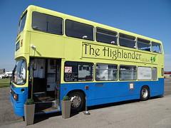 The Highlander (Ian Robin Jackson) Tags: bus buses transport cafe beach summer may aberdeen scotland reinvention