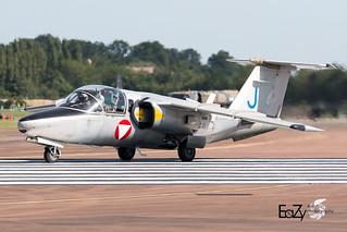 1140/J Blue Austrian Air Force Saab 105Oe