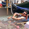 Recumbent Gondolier (Fairy_Nuff (new website - piczology.com!)) Tags: venice recumbent gondolier gondola rest break sunglasses