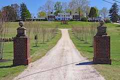 Cumberland Plantation, founded in 1660 - built in 1690, New Kent, VA (Beltway Photos) Tags: newkent newkentcounty cumberlandplantation 1600s 1700s virginia unitedstates plantation antebellum 2018gardenweek