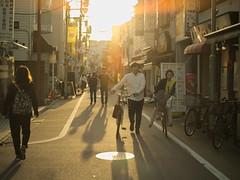 夕暮れ商店街 (taotti_01) Tags: mamiya zd 645 80mm f28