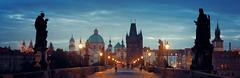 查理大桥 (BestCityscape) Tags: 布拉格 捷克共和国 建筑 旅行 prague czech republic architecture europe travel square castle 教堂 cathedral