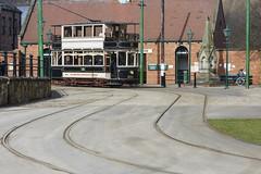 on the rails (Cranswick852) Tags: 6197 beamish vintage livingmuseum street tram rails canon canon5d canon5dmk3 canon5dmkiii ef2470mmf28liiusm