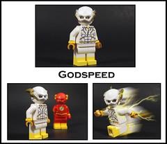 Godspeed (-Metarix-) Tags: lego minifig dc comics comic rebirth flash godspeed august heart speedster speedforce villain turned good custom sculpting material ccpd