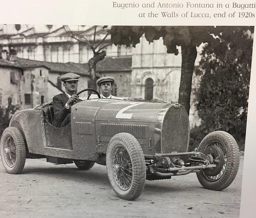 Eugenio Fontana (Bugatti) at Lucca