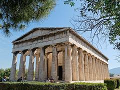 Athens - Temple of Hephaestus (KaterinaN.) Tags: athens greece nika temple hephaestus