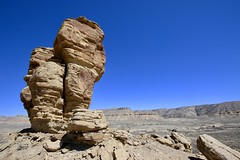 They Call It Camel Rock (carfull...in Wyoming) Tags: camelrock monolith sandstone pillar rock desert wyoming sweetwatercounty sedementary