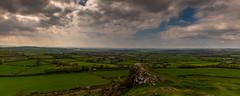 Brentor Panorama (trevorhicks) Tags: westdevondistrict england unitedkingdom gb brentor devon farm rock cloud outdoor canon 5d mark iv tamron