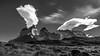 Cuernos, Torres del Paine (Piotr_PopUp) Tags: cuernos torresdelpaine patagonia chile ultimaesperanza southamerica latinamerica landscape mountain mountains rock rockformation cloud clouds cloudy blackandwhite blackwhite bnw bw monochrome mono