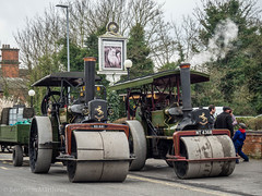 GCR Easter 2018 (Ben Matthews1992) Tags: gcr great central railway gala show easter vintage quorn woodhouse steam traction engine aveling portr roller ro641 nt4368