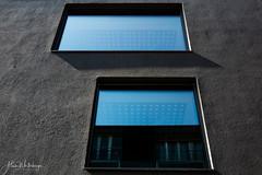 blue window (alain.winterberger) Tags: architecture batiment fenêtre window bleu blue abstrait abstract flon lausanne bcvconcerthall panasonic lumix gx80 20mm minimal urbain urban immeuble suisse switzerland schweiz svizerra colors couleur