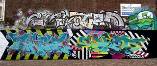 graffiti and streetart in Amsterdam
