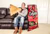 Everything is huge at Costco! (Richard Sollorz Photography) Tags: richard sollorz costco doritos selfie self portrati huge large oversized lounge chips funny humour art manipulation composition