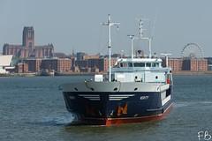 Verity (frisiabonn) Tags: vehicle ship water wirral liverpool england uk britain marine vessel river mersey merseyside sea shore waterfront maritime boat outdoor birkenhead verity cargo