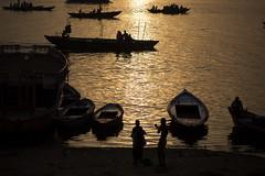 "The Ganges At Dawn, Varanasi (El-Branden Brazil) Tags: varanasi india indian ganges ganga ceremony hindu hinduism asian asia sacred holy mystical ""south asia"" sadhu"