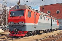 2ES6-242 (zauralec) Tags: синара ржд локомотив электровоз 2es6 2эс6 sinara rzd kurgan depot курган депо 2es6242 242 2эс6242