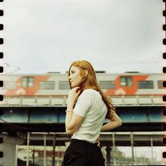 Kate (belousovph) Tags: mediumformat film analog kodak 120 vision3 zenzanon bronica girl sport train