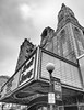 Loew's Jersey Theatre (brianloganphoto) Tags: moviepalace historical bw monochrome baroquerococo architectural landmark vertical newjersey loewswondertheatres theater blackandwhite jerseycity journalsquare unitedstates us